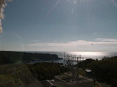 和歌山県串本町 潮岬風力実験所の周辺の海ライブカメラと雨雲レーダー