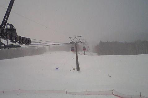 十勝サホロリゾートスキー場ライブカメラと雨雲レーダー/北海道新得町