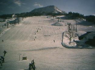 雪だるま高原 キューピットバレイのゲレンデライブカメラ