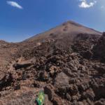 テイデ国立公園の360度パノラマカメラ