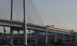 停止中:横浜ベイブリッジがみえるライブカメラと雨雲レーダー/神奈川県横浜市