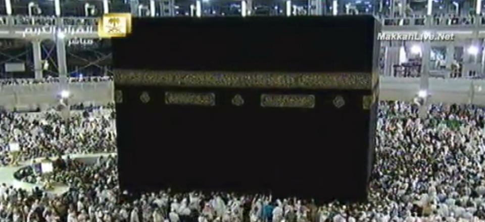 """サウジアラビア・メッカ """"マスジド・ハラーム""""や""""カアバ""""ライブカメラ"""