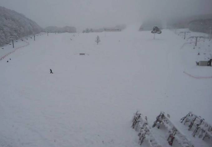 米沢スキー場ライブカメラと雨雲レーダー/山形県米沢市