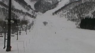 白馬コルチナスキー場ライブカメラと雨雲レーダー/長野県小谷村