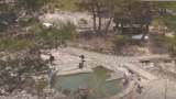 草津温泉 西の河原 ライブカメラ(露天風呂入り口)と雨雲レーダー/群馬県草津町