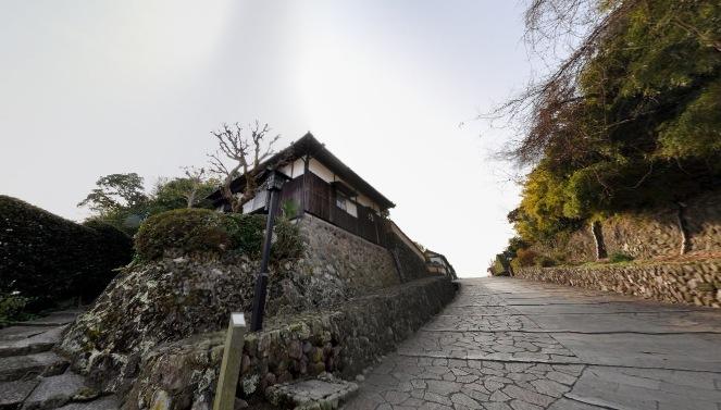 志保屋の坂(しほやのさか)360度パノラマカメラ