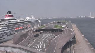 横浜港大さん橋国際客船ターミナル ライブカメラと雨雲レーダー/神奈川県横浜市