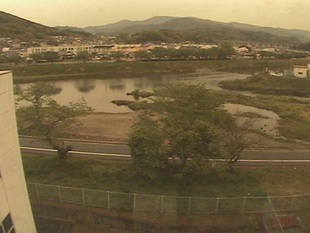 水俣川ライブカメラと雨雲レーダー/熊本県水俣市