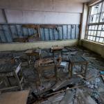 軍艦島 端島小中学校教室360度パノラマカメラ その2