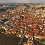 首都プラハを一望できる360度パノラマカメラ