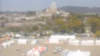 姫路城とその周辺ライブカメラと雨雲レーダー/兵庫県姫路市