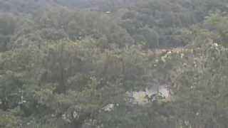 緑水湖ライブカメラと雨雲レーダー/鳥取県南部町