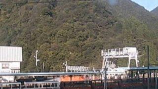 停止中:黒部峡谷トロッコ電車ライブカメラと雨雲レーダー/富山県黒部市