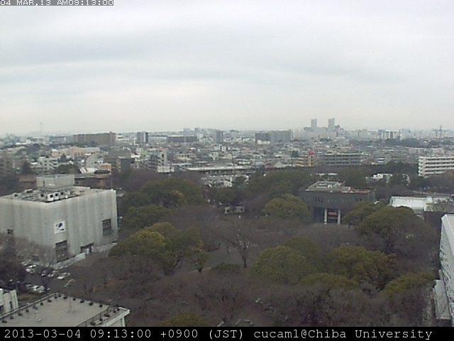 千葉大学ライブカメラ