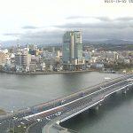 くにびき大橋(県道21号)・大橋川ライブカメラ
