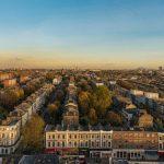 ロンドンの町並み360度パノラマカメラ