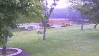 緑ヶ丘公園・金太郎の池ライブカメラと雨雲レーダー/北海道苫小牧市