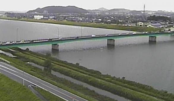 福岡県 遠賀川ライブカメラ(20ヶ所)と雨雲レーダー