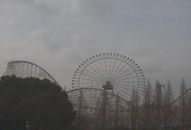 三重県桑名市 ナガシマスパーランドライブカメラと雨雲レーダー