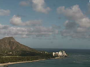 ハワイ(ホノルル):Sheraton Waikikiのライブカメラ