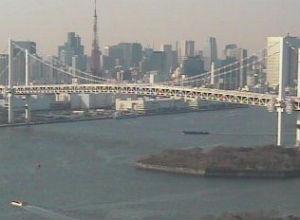 東京タワー・東京スカイツリー・ゆりかもめ線「台場駅」・羽田空港ライブカメラ