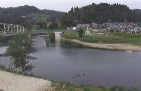 最上川中流が見れるライブカメラ
