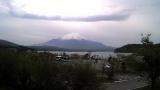しろがね荘 富士山ライブカメラと雨雲レーダー/山梨県山中湖村