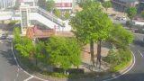 上田駅前ロータリーライブカメラと雨雲レーダー/長野県上田市