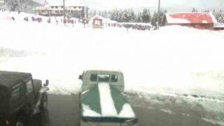 あわすのスキー場ライブカメラと雨雲レーダー/富山県富山市