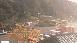 道の駅・奥津温泉周辺ライブカメラと雨雲レーダー/岡山県鏡野町