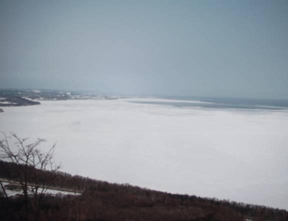 北見工業大学の流氷ライブカメラ(7ヶ所)