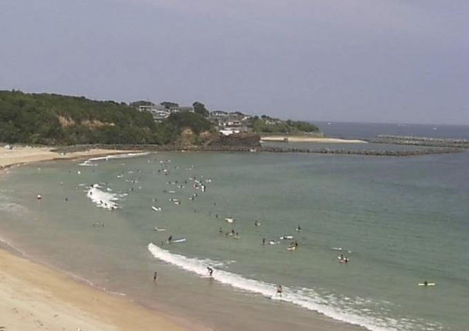 停止中:市後浜(いちごはま)ライブカメラと雨雲レーダー/三重県志摩市