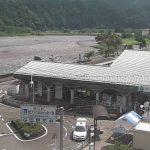 千頭駅前と国道362号・高郷大井川河川敷広場ライブカメラ(2ヶ所)