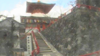 中山寺ライブカメラ(6ヶ所)と雨雲レーダー/兵庫県宝塚市
