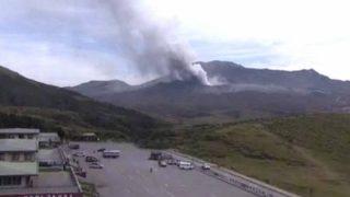 阿蘇山ライブカメラ(NHK)と雨雲レーダー/熊本県