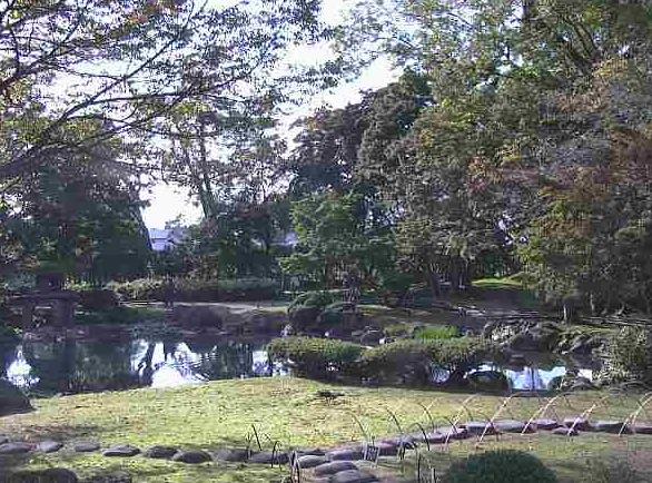 停止中:秋田県大仙市 旧池田氏庭園(本家庭園)ライブカメラと雨雲レーダー