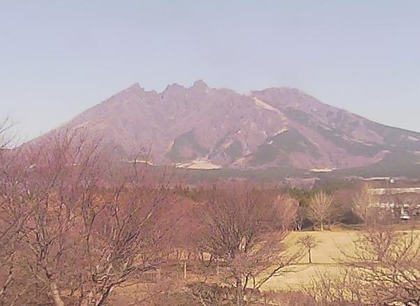 南阿蘇からみた阿蘇根子岳ライブカメラ