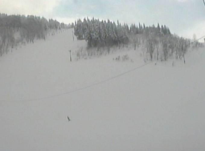 たいらスキー場ライブカメラと雨雲レーダー/富山県南砺市