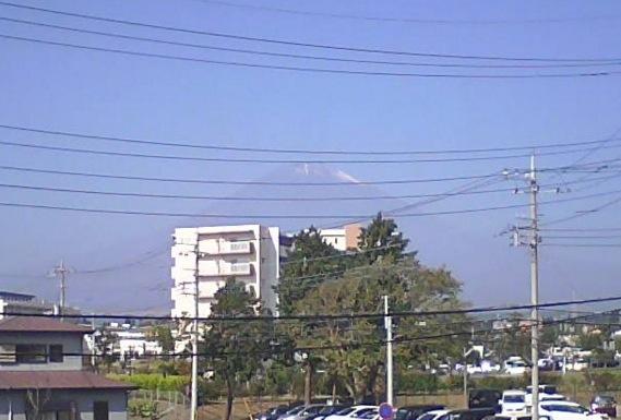 富士山ライブカメラ3と雨雲レーダー/静岡県御殿場市