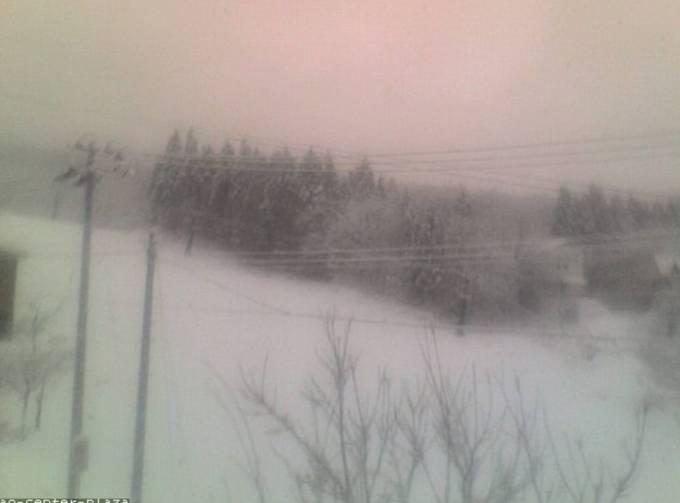 山形蔵王温泉スキー場中森ゲレンデライブカメラと雨雲レーダー/山形県山形市