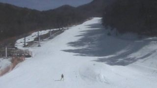 治部坂高原スキー場ライブカメラと雨雲レーダー/長野県阿智村