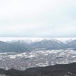 鷹狩山山頂から眺める北アルプスライブカメラ