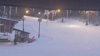 箕輪スキー場ライブカメラと雨雲レーダー/福島県猪苗代町