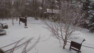 野尻湖グリーンタウン ライブカメラと雨雲レーダー/長野県信濃町
