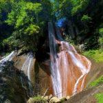 草津温泉 嫗仙の滝 がみえる360度パノラマカメラ
