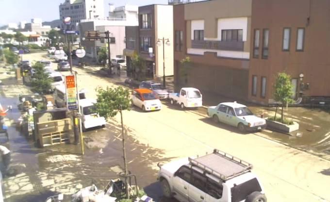 停止中:岩手県久慈市 三陸鉄道久慈駅の周辺ライブカメラ(USTREAM)と雨雲レーダー