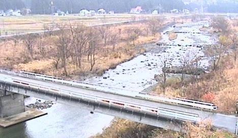 三国川ダム周辺ライブカメラと雨雲レーダー/新潟県南魚沼市