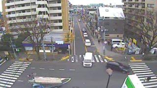 国道20号 八幡山甲州街道ライブカメラと雨雲レーダー/東京都杉並区