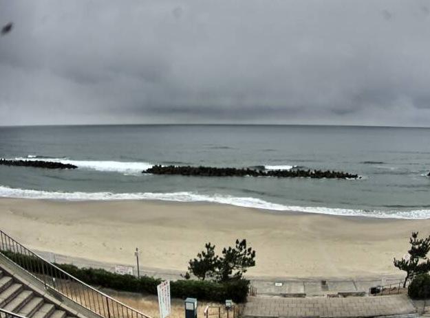 島根県出雲市 キララビーチライブカメラと雨雲レーダー
