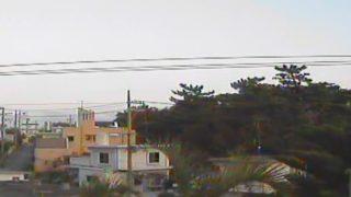 東松本自治会周辺ライブカメラと雨雲レーダー/沖縄県沖縄市